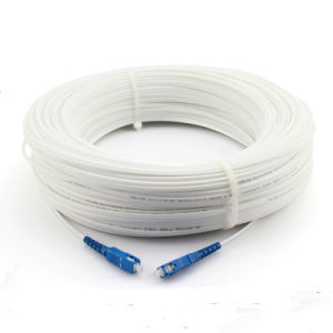 GJYXFCH FTTH Cable Fiber Patch Cord Sc-Sc White and Black Color Optional pictures & photos