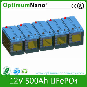 12V 500ah LiFePO4 Battery for Solar System pictures & photos