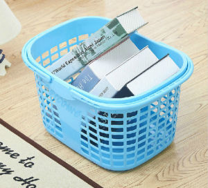Small Portable Hollow Basket Storage Box for Everything pictures & photos