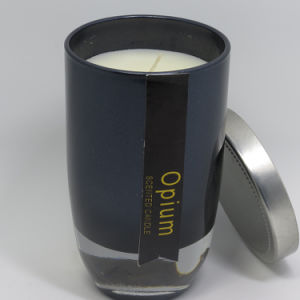 Wholesale Luxury Soy Scented Jift Glass Candle in Black Jar pictures & photos