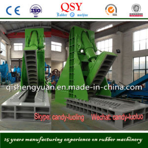 Big Tire Cutter Machine for Tire Recycling Line pictures & photos