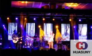 Foldable LED Screen for Indoor/ Semmi Outdoor Stage Live Show pictures & photos