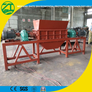 Multi-Function Twin Shaft Shredder for Plastic/Foam/Wood/Tire/Food Waste/Municipal Waste/Metal pictures & photos
