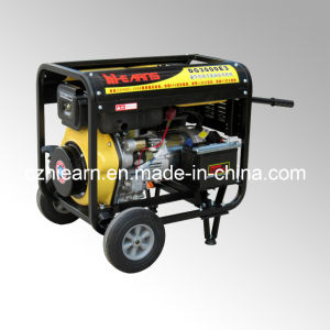 Air-Cooled Open Frame Type Single Cylinder Diesel Generator (DG3000E3) pictures & photos