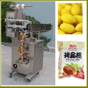 Manule Feeding Bucket Chain Packing Machine for Granules pictures & photos