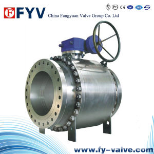 API 6D Full Bore Steel Ball Valve with Flanged Ends pictures & photos