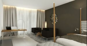 Stars Mordern Hotel Bedroom Wooden Furniture (GN-HBF-56) pictures & photos