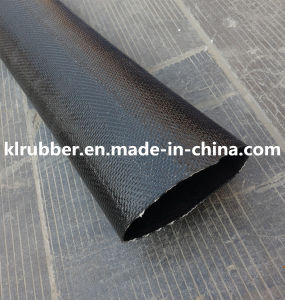 Black High Pressure PVC Layflat Hose pictures & photos