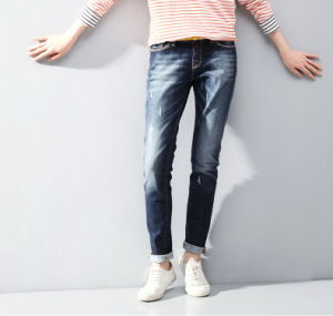 Women New Stretch Denim Jeans pictures & photos