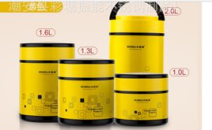 304 Stainless Steel Double Wall Vacuum Pot & Lunchbox (ZN-005) pictures & photos