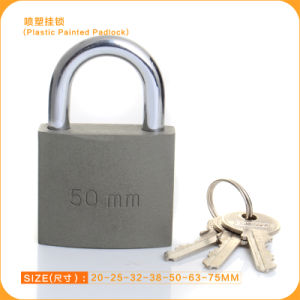 High Quality Plastic Painted Padlock