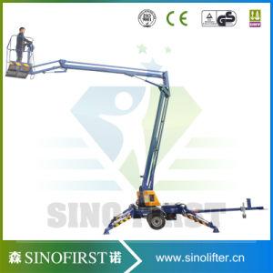 8m to 14m Towable Lift Aerial Work Man Lift Platform pictures & photos