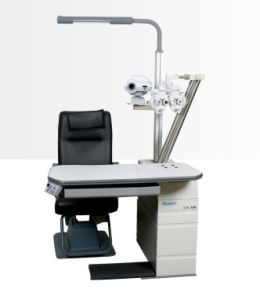 High Quality Cheap Ophthamic Optometry Combined Table Set pictures & photos
