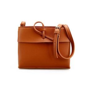 China Wholesale PU Leather Handbag Satchel Leather Handbag