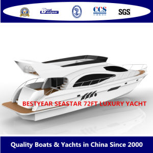 Bestyear Seastar 72FT Luxury Yacht pictures & photos