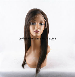 Best Long Full Lace Human Hair Wigs with Bangs Virgin Brazilian Body Wave Glueless Human Hair Lace Front Wig Sll-Wigs001 pictures & photos