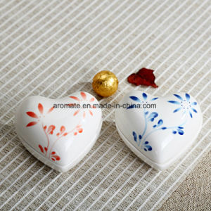 Heart Shaped Ceramic Jewellery Storage Box (CC-03) pictures & photos