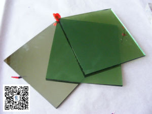 5mm Dark Green Float Glass /Color Glass for Building pictures & photos