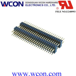1.27*2.54 Double Plasticle 180 ° DIP Pin Header pictures & photos