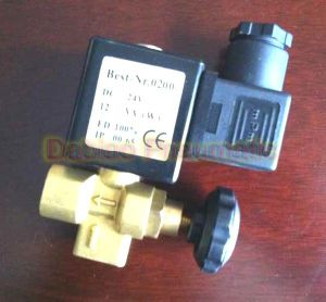 Brass Material Adjustable Mini Steam Solenoid Valve 1PC-Dl-08 pictures & photos