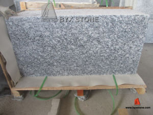 Spray White / Sea Wave Polished Granite Tile for Floor, Countertop pictures & photos