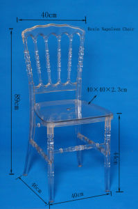 Wholesale High Quality White Color Polycarbonate Resin Napoleon Chair pictures & photos