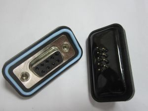 Waterproof D-SUB Connector, 9p Female Type, Straight DIP for PCB Board pictures & photos