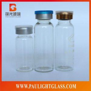 Clear Glass Bottle Medicine Use for Penicillin Essence