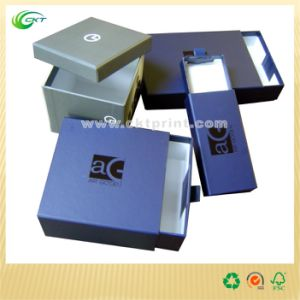 Rigid Cardboard Gift Box with Hot Stamping (CKT-CB-158) pictures & photos