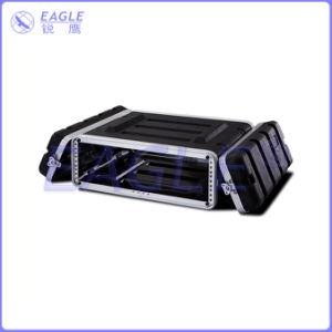 Standard Waterproof Aluminum ABS Flight Rack Case for Equipments (3U)