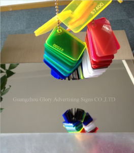 Plastic PMMA Silver and Gold Acrylic Mirror Sheet for Decoration and Bathroom pictures & photos