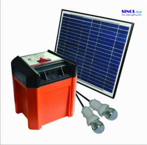 8W DC & USB Output Portable Solar System/DC Solar Generator (SP3) pictures & photos