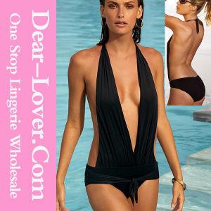 Newest Fashion Wholesale Nylon Spandex Swimsuits pictures & photos