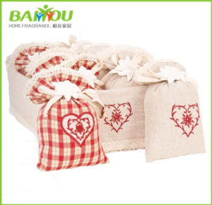 Dry Flower Heart Pouch pictures & photos