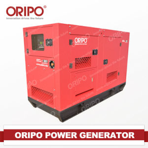Electric Powerplant Project Stationary Silent Genset Diesel Generator Set pictures & photos