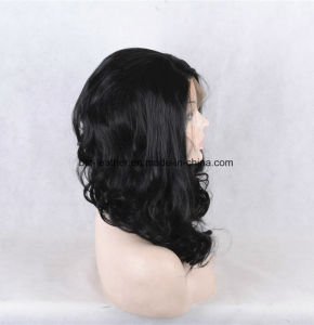 Virgin Brazilian Hair Glueless Lace Front Wig/Full Lace Wig pictures & photos