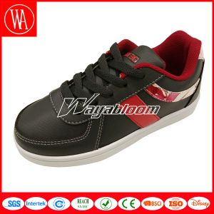 Leisures Style Lace-up Kids Skate Shoes pictures & photos