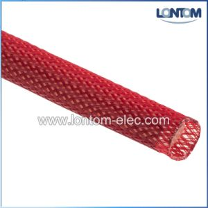Flame Retardant Braided Expandable Sleeving (PET) pictures & photos