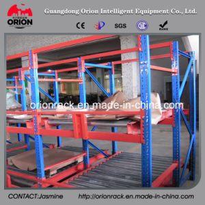 Warehouse Steel Roller Display Shelf Rack