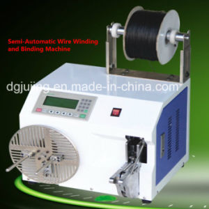 PLC Semi-Automatic Wire Coiling Winding Machine pictures & photos