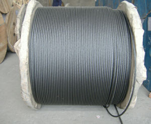 Steel Wire Rope 7X19 with High T/S and High Quality pictures & photos