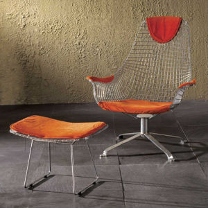 Wire Lounge Chair (TC-0175M)
