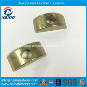 Stock Alloy Steel Half Moon Nut Plastic Furniture Nut Half Round Moon Washer Nuts pictures & photos