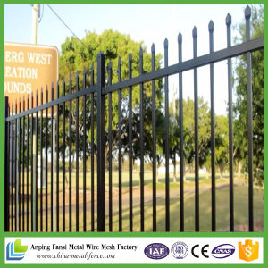 2017 New Style Cheap Wrought Iron Fence pictures & photos