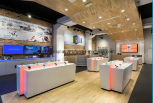 Mobile Shop Counter/Mobile Counter Design/Cell Phone Display Fixture pictures & photos