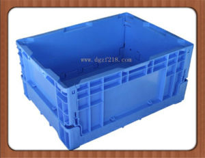 EU Plastic Folding Storage Containers for Warehouse pictures & photos