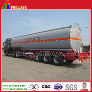 Good Quality 3 Axles 35000-50000liters Fuel Tanker Trailer for Sale pictures & photos