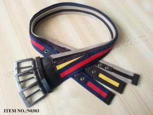 2017 Ss Polyester Men Belt pictures & photos