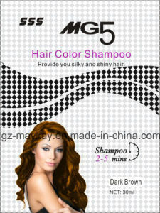 Mg 5 Hair Color Shampoo (Dark Brown) 30ml pictures & photos