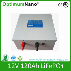 12V 120ah LiFePO4 Battery for Solar Storage pictures & photos